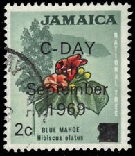 """JAMAICA 280 (SG281) - Introduction of Decimal Currency """"Blue Mahoe"""" (pa89947)"""