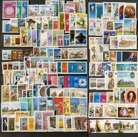 Worldwide Dealer Stamp Collection MNH - 250 Different Stamps per Lot - Full Sets