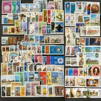 Worldwide Dealer Stamp Collection MNH - 200 Different Stamps per Lot - Full Sets