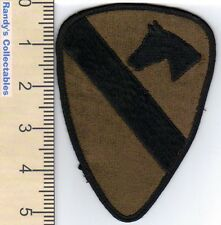 Authentic US Army 1st Cavalry Division BDU Subdued Sew On Military Patch