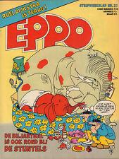 STRIPWEEKBLAD EPPO 1978 nr. 21 - DE STUNTELS / STORM / GUUS AREND /ROEL DIJKSTRA