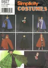 MAGICIAN BATMAN DRACULA CAPES COSTUME SEWING PATTERN CHILD 3-8 Simplicity 5927