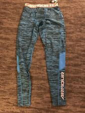 Men's Under Armour Cool Switch Compression Pants Leggings Tight Medium Turquoise