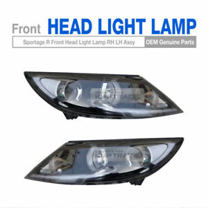 OEM Parts Front Head Light Lamp LH + RH For KIA 2011 12 13 14 15 16 Sportage R