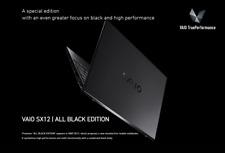 "2020 New VAIO SX12 12.5"" i7-10710U FHD 16GB Ram 1TB SSD Laptop BLACK"