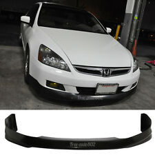 Fit For 06-07 Honda Accord Sedan HFP Style PU Front Bumper Lip Poly Urethane