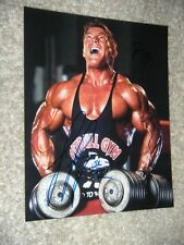 FLEX LEWIS signed BODYBUILDING 8x10 photo MR OLYMPIA ARNOLD CLASSIC protein y