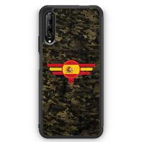 Espana Spanien Camouflage Silikon Hülle für Huawei P Smart Pro Motiv Design M...
