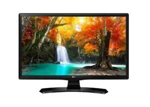 LG LED TV/MONITOR FULL HD 22TN410V. FACTORY SEALED BOX.