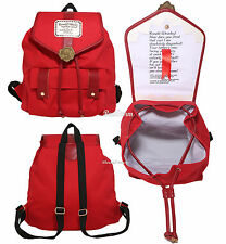 Harry Potter Ron Weasley Howler Letter RED Slouch Canvas Backpack Book Bag NWT