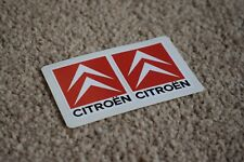 Citroen Racing Motorcycle Bike Car Emblem Race Rally Decals Stickers Red 100mm