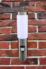 Edelstahl Außenlampe Fakel Hoflampe mit Bewegungsmelder