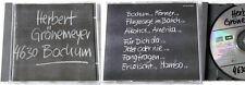 HERBERT GRÖNEMEYER Bochum .. Original 1984 EMI CD TOP No Barcode