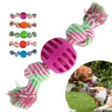 Dog Toy Dog Chews Cotton Rope Knot Ball Grinding Teeth odontoprisis Pet Toy New
