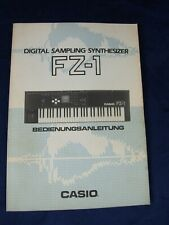 Casio FZ-1 Digital Sampling Synthesizer Keyboard GERMAN