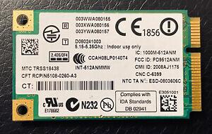 Intel 512AN_MMW WiFi Link 5100 802.11ABGN Mini PCI-E Card Wireless Laptop (30)