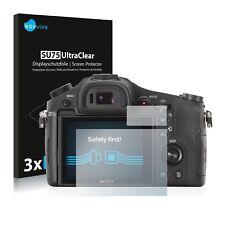 2x BROTECT Displayschutzfolie Klar Sony FDR-AX53 Schutzfolie Displayfolie Folie