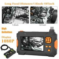 "4.3""1080P Inspection Borescope Monitor Endoscope Camera Pipe Car Repair Tool HD"