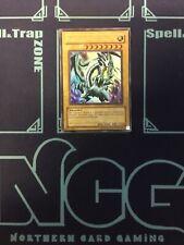 Yugioh-Blue-Eyes White Dragon-Unlimited Edition-LOB 001