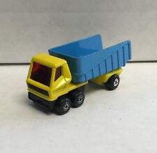 1973 Matchbox Superfast Diecast Articulated Dump Delivery Truck #50 England