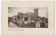 Buckinghamshire; Parish Church, High Wycombe PPC, c 1910's, To Miss Smith, Luton
