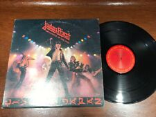 Judas Priest - Unleashed In The East - VG+ Vinyl LP Record