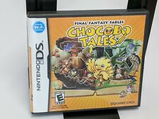 Final Fantasy Fables: Chocobo Tales Nintendo DS, 2007 Tested Complete