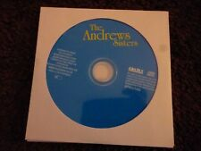 THE ANDREWS SISTERS*CD*22 TRACKS*SHOO SHOO BABY*AURORA***DISC ONLY***