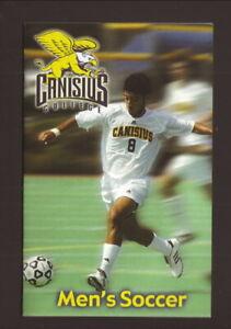 Canisius Golden Griffins--2007 Soccer Pocket Schedule--Frey Electric