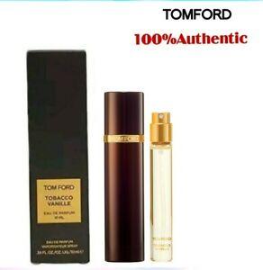 Tom Ford Tobacco Vanille 0.34 oz /10 ml Eau De Parfum Atomizer Spray For Unisex