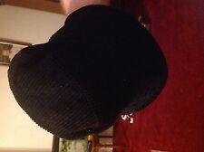 Ladies black hat M and S