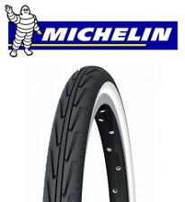 Pneu vélo 550A confort MICHELIN Diabolo 37-490 City J Blanc et Noir NEUF