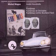 FANTOMAS / FANTOMAS SE DECHAINE (MUSIQUE DE FILM) - MICHEL MAGNE (CD)