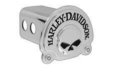 Harley-Davidson Trailer Hitch Cover Plug 3D Skull Emblem