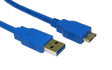 USB 3.0 Data Cable Cord Lead For Buffalo Portable External Hard Drive Disk HDD