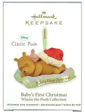 2011 Hallmark Classic Winnie the Pooh Collection Baby's First Christmas Ornament