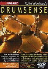 COLIN WOOLWAYS DRUMSENSE LICK LIBRARY LEARN TO PLAY DRUMS TUITION DVD!