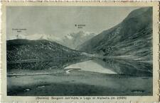 1915 Bormio - Sorgenti dell'Adda e Lado di Alpisella m. 2285 - FP B/N VG