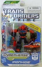 "IRONHIDE Transformers Prime Hub Animated Commander Class 4"" inch Figure #6 2012"