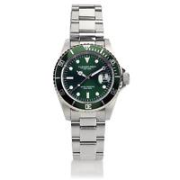 AG Spalding & Bros Orologio da polso Diver quadrante verde GMT Hulk 174431U313