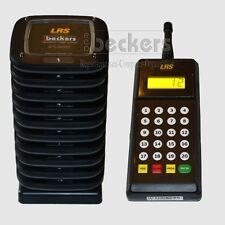 LRS Gästeruf 10 Pager Rufsystem Call System Paging Gast rufen betriebsfertig