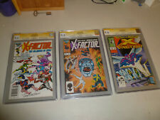 X-Factor CGC lot.   #5 (9.6), #6 (9.4), #24 (9.6) all signed