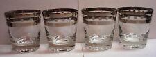 Dorothy Thorpe Style - Polka Dot - MCM - 10oz LowBall Rocks Glasses - Set of 4