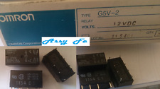 4 pcs x G5V-2-12VDC RELAY-DIP8PIN-RELE=G5V-2-12V,DPDT,0,6A/125VAC,2A/30vdc G5V-2