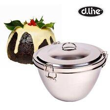 D line Christmas Pudding Steamer 2Ltr (stainless steel )