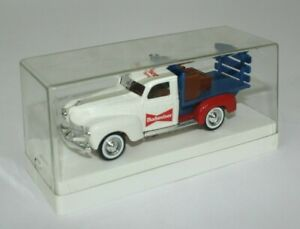 Rare Solido 1940 Dodge 1/43 Budweiser Stake Bed Pick Up Delivery Truck Diecast