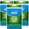 Oral B Complete Glide Dental Floss Tooth Picks Scope Outlast Mint 75ct(pack of 3