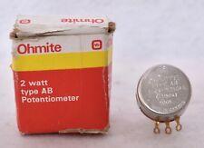 Ohmite Potentiometer CMU-5041 Type AB Ohms 500K