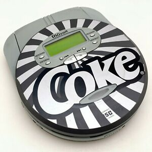 RioVolt Coca Cola Coke Portable CD/MP3 Player | SP50C | Tested | Works Fine