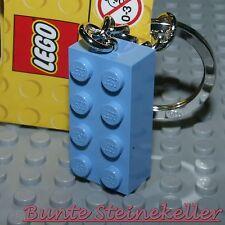 LEGO® Kette Herz Anhänger rot blau drot 2-teilig Partnerkette Christmas R380